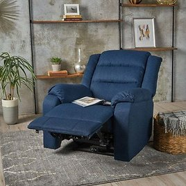 Christopher Knight Home Adrianne Fabric Power Recliner Chair