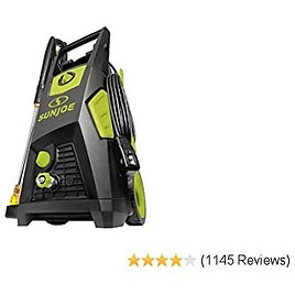 I 1.48 Gpm Br50% OFF Sun Joe SPX3500 2300 Max Psushless Induction Electric Pressure Washer, W/Brass Hose Connector