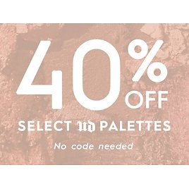 40% OFF Select Palettes - Eyeshadow and Makeup | Urban Decay