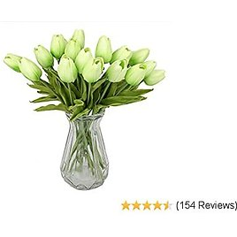 Amazon: 60% OFF On 20 Pcs Real Touch Artificial Tulips Flowers