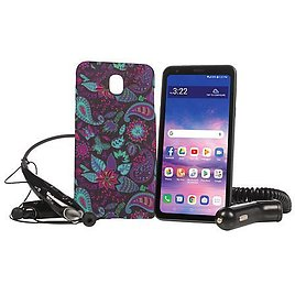 """LG Journey 5.45"""" HD+ Tracfone with Case and 1500 Min/Text/Data - 9456553   HSN"""