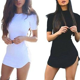 Sexy Womens Lady Bandage Bodycon Party Evening Cocktail Club Short Mini Dress EO