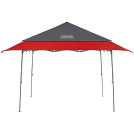 Coleman Expandable Shade Shelter, 9 X 9, Black & Red