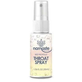 Namaste Supplements Bee Propolis Soothing Throat Spray 1 Oz Natural Boost CHOP 692764176680