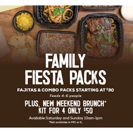 Family Fiesta Packs- Feeds 4/ 6 Peoples Starting At $30