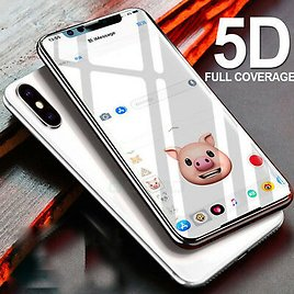 For Apple IPhone XS MAX Gorilla 5D Full Coverage Tempered Glass Screen Protector