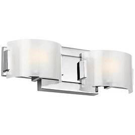 TODAY ONLY! 84% Off Feiss Brinton 2 Light LED Vanity Lights