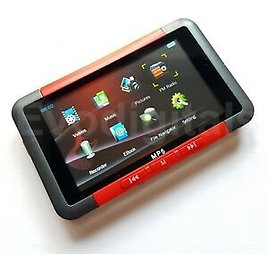 """NEW EVO RED 48GB MP3 MP5 MP4 PLAYER - DIRECT PLAY 3"""" SCREEN VIDEO MUSIC FM +"""