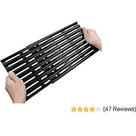 ROLLGAN Extension Cooking Grate Porcelain Steel Adjustable Replacement BBQ Grills Gas Grills Electric Grills Cooking Grid (8 Inch)
