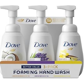 Dove Foaming Hand Wash Variety Pack, 3 Pk