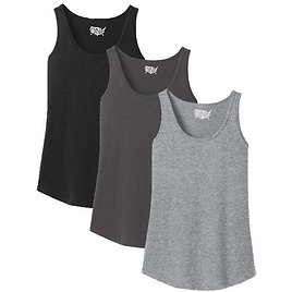 One Country United Women's Core Cotton Tank 3 Pack