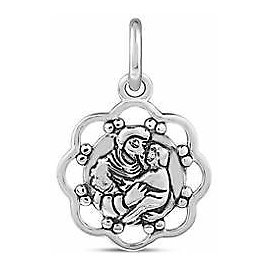 Belk Silverworks Southern Charm Sterling Saint Anthony of Lost Things Disc Charm