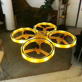 RC Drone UFO Toys Watch Gesture Flying Ball Helicopter Hand Infrared Electronic Quadcopter Interactive Induction Dron Kids Toys