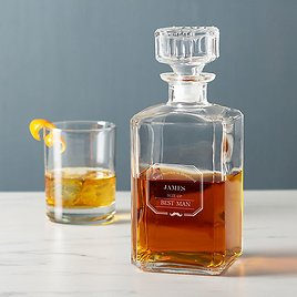 Cathy's Concepts Best Man 'Suit Up' Personalized Decanter
