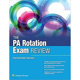 Save 34%! The PA Rotation Exam Review 1st Edition