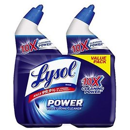 LYSOL® Toilet Bowl Cleaner - Twin Pack 48 Ounces Bathroom Cleaners | Meijer Grocery, Pharmacy, Home & More!