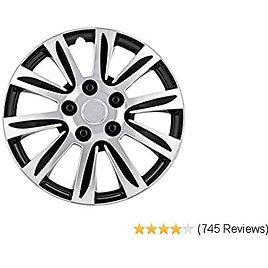Pilot WH547-16S-B Universal Fit Premier Toyota Camry Style Silver 16 Inch Wheel Covers - Set of 4