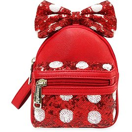 Minnie Mouse Bow Backpack Wristlet By Loungefly   ShopDisney
