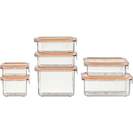 14-Pc. Food Storage Container Pack (2 Colors)