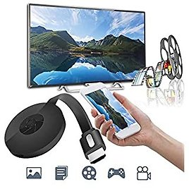 Streaming Media Players, Miracast 1080P G2-4 Generation Digital HDMI Media Video Streamer for IOS/Android