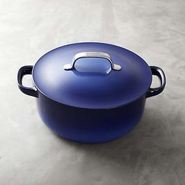7 1/4-Qt Enameled Cast Iron By Staub Round Oven