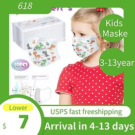 US $7.04 36% OFF|50pc Faceshield Children's Kids Facemask Disposable 3ply Ear Loop Scarf Face Maskswashable And Reusable Faceshield|Girl's Scarves| - AliExpress