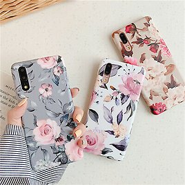 Retro Flower Phone Case For Samsung Galaxy A70 A50S A30S A40 Soft Silicone Cover