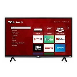 """TCL 32S327 32"""" 1080p Full HD Roku Smart LED TV with 3 HDMI"""