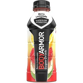 BODYARMOR Sports Drink Sports Beverage, Fruit Punch, Natural Flavors With Vitamins, 16 Fl Oz (Pack of 12)