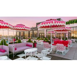 See The Over-the-top Photos from Nashville's New Dolly Parton-inspired Hotel Rooftop Bar