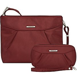 Extra 60% OFF - Travelon Anti-Theft Compact Crossbody with RFID Clutch Wallet - EBags.com