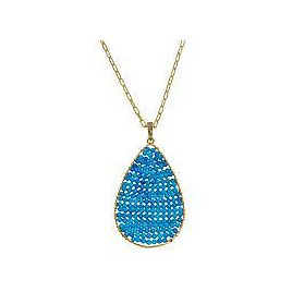 Rarities Gold-Plated Faceted Gemstone Toggle Necklace - 9384965 | HSN