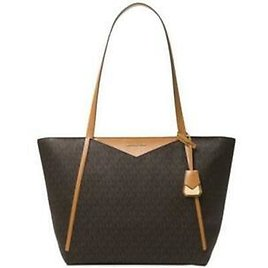 Michael Kors Signature Whitney Large Tote BrownGold