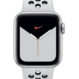 Apple Watch Nike Series 5 (GPS + Cellular) with Nike Sport Band 40mm Silver Aluminum Case. Nike.com