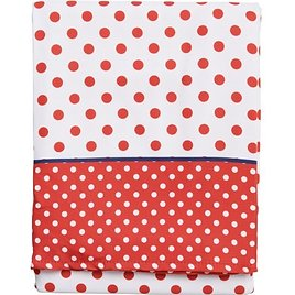 """Tommy Bahama Outdoor Patriotic Dot Oblong Tablecloth - 60x84"""""""