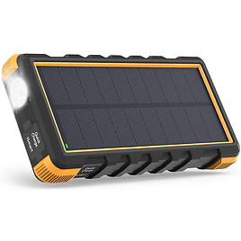60% OFF On 25000mAh Portable Charger 3-Port Solar Power Bank