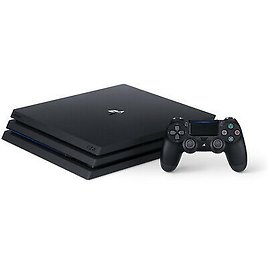 NEW Sony PlayStation 4 PS4 Pro 1TB 4K HDR + HDMI + DUALSHOCK 4 Controller 711719521099