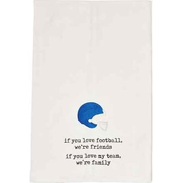 Deborah Connolly Runs to You Kitchen Towels - 2-Pack, White-Black-Sand