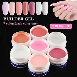 14g Nail Builder UV LED Gel Nail Extension Camouflage Yayoge Soak Off Resin