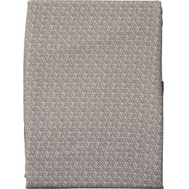 """Tommy Bahama Neutral Falmouth Weave Zipper Tablecloth - 70"""" Round"""