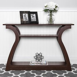 """47"""" 3-Shelf Entryway Display Console Accent Table (F/S)"""