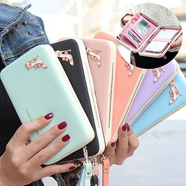 Leather Purse_Phone Wallet Fashion