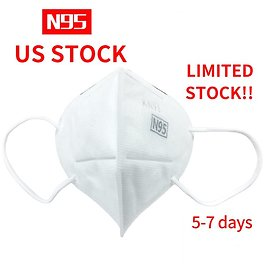 10pcs N95 Particulate Respirator Mask 5 Layer Protection Face Mask