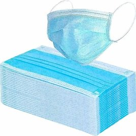 Face Mask Disposable Mask Protect Mouth 3 Ply