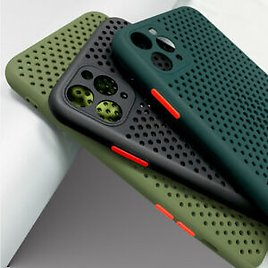 For Apple IPhone 11 Pro Max XR XS 8 7 Plus Shockproof Heat Dissipation Soft Case
