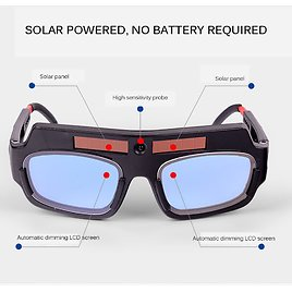 US $11.49 43% OFF|Automatic Dimming Welding Glasses Anti Glare Goggles Argon Arc Welding Glasses|Welding Helmets| - AliExpress