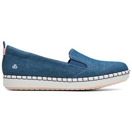 Step Glow Slip Denim - Womens Casual Shoes - Clarks® Shoes Official Site | Clarks