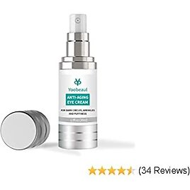 Restoring Eye Cream Serum for Men, Natural and Organic Anti Aging Eye Balm To Reduce Puffiness, Wrinkles, Dark Circles, Crows Feet and Under Eye Bags, Firm Delicate Eye Area, 1 Oz