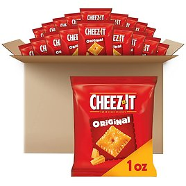 40-CT Cheez-It Original Baked Snack Cheese Crackers