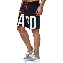 Men Letter Printed Loose Sports Outdoor Casual Shorts - US$19.99 -YOINS